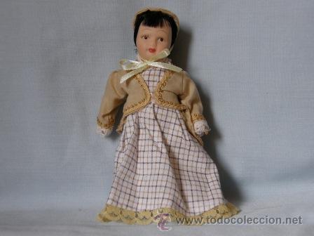 MUÑECA KENSINTONG DE PORCELANA -LA SOMBRERERA- ***NUEVA*** (Juguetes - Muñeca Extranjera Moderna - Porcelana)