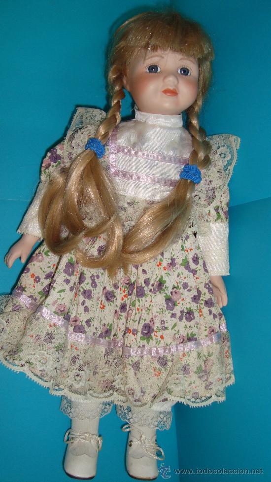 Muñecas Porcelana: PRECIOSA MUÑECA DE PORCELANA THE CLASSIQUE COLLECTION ROSA marcada y numerada - Foto 2 - 35073530