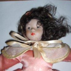 Muñecas Porcelana: PRECIOSA MUÑECA, CARA,BRAZOS Y PIES DE CERAMICA O PORCELANA, VINTAGE. Lote 35396975