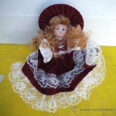 Muñecas Porcelana: PEQUEÑA MUÑECA CERAMICA. Lote 35656242