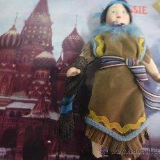 Porzellan-Puppen - MUÑECA COLECCION MUÑECAS DEL MUNDO PORCELANA TRAJES TIPICOS INDIA AMERICANA - 35983061
