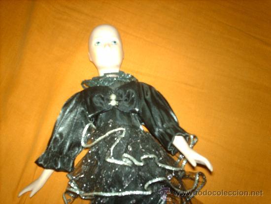 Muñecas Porcelana: preciosa muñeca de porcelana años 80- 40 cm - Foto 2 - 35997410