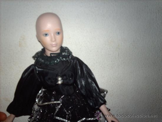Muñecas Porcelana: preciosa muñeca de porcelana años 80- 40 cm - Foto 6 - 35997410