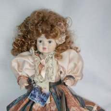 Muñecas Porcelana: BONITA MUÑECA DE PORCELANA ITALIANA - LE BAMBOLE DI JAGO - DEBORA - VOGUE SPOSA. Lote 36284416