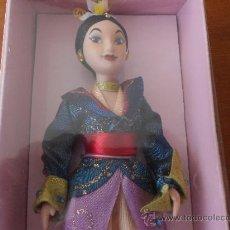 Muñecas Porcelana: PRINCESAS DISNEY DE PORCELANA: MULÁN, (EDICIÓN MÁS LUJOSA) VER DETALLES DE LA ROPA. Lote 174399279