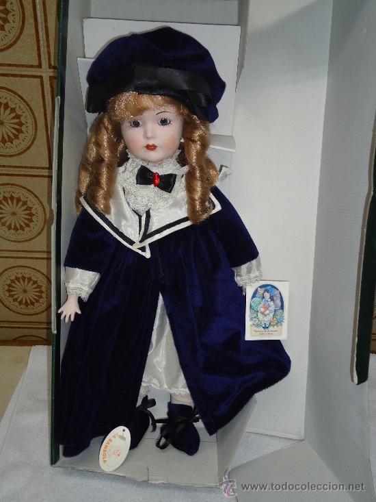 MUÑECA CLASICA MARCA LA BAMBOLA DE PORCELANA. AÑOS 70-80. -AL (Juguetes - Muñeca Extranjera Moderna - Porcelana)