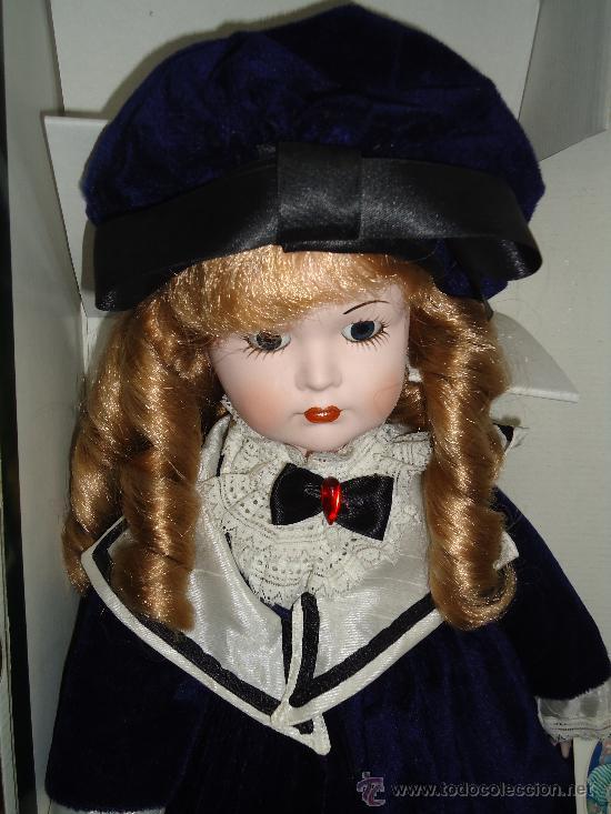 Muñecas Porcelana: MUÑECA CLASICA MARCA LA BAMBOLA DE PORCELANA. AÑOS 70-80. -AL - Foto 2 - 37101541