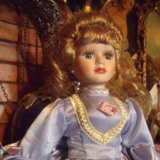 Muñecas Porcelana: BELLA MUÑECA DE PORCELANA . Lote 37551814