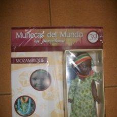 Muñecas Porcelana: MUÑECAS DEL MUNDO EN PORCELANA - Nº 39 - MOZAMBIQUE - CON FASCICULO - PRECINTADA. Lote 185937300