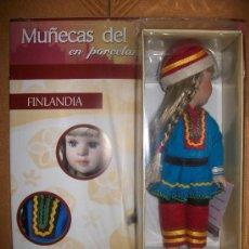 Muñecas Porcelana: MUÑECAS DEL MUNDO EN PORCELANA - Nº 27 - FINLANDIA - CON FASCICULO - PRECINTADA. Lote 37896929