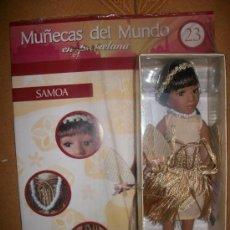 Muñecas Porcelana: MUÑECAS DEL MUNDO EN PORCELANA - Nº 23 - SAMOA - CON FASCICULO - PRECINTADA. Lote 37896936