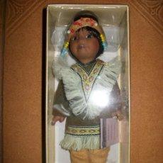 Muñecas Porcelana: MUÑECAS DEL MUNDO EN PORCELANA - POBLADO INDIO - SIN FASCICULO - CAJA SIN ABRIR. Lote 37897089