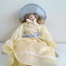 Muñecas Porcelana: MUÑECA DE PORCELANA. ALTURA 34 CM.. Lote 38399218