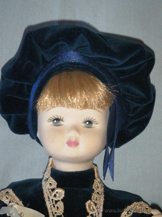Muñecas Porcelana: MUÑECA ITALIANA COMPLETAMENTE EN PORCELANA BISCUIT AÑOS 90 - Foto 2 - 38456923