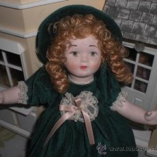 Muñecas Porcelana: MUÑECA ENTERA DE PORCELANA O BISCUIT - ESTILO JOSEFINA Y RAMON INGLES. Lote 38605169