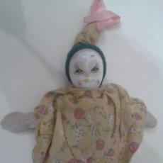 Muñecas Porcelana: MUÑECA CON CABEZA DE PORCELANA. Lote 38667127