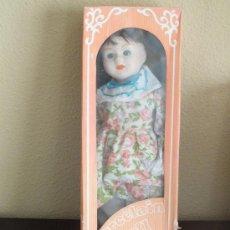 Muñecas Porcelana: PORCELAIN DOLL 40 CM - MUÑECA DE PORCELANA. Lote 38876929