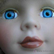 Muñecas Porcelana: MUÑECA COMPOSICIÓN NJSF .CABEZA, BRAZOS Y PIERNAS DE PORCELANA. 80'. Lote 39037400