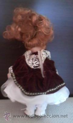 Muñecas Porcelana: Preciosa muñeca de porcelana pelirroja, 20 cm - Foto 4 - 39094693