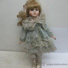 Muñecas Porcelana: MUÑECA DE PORCELANA . Lote 39257174