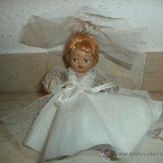 Muñecas Porcelana: TERRACOTA - ANTIGUA MUÑECA TERRACOTA, NOVIA O COMUNION, 111-1. Lote 39281767