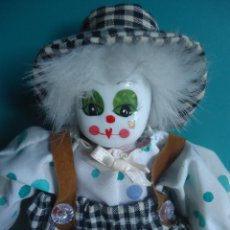 Muñecas Porcelana: PAYASO CARA PORCELANA TIPO CRISTAL. Lote 39332116