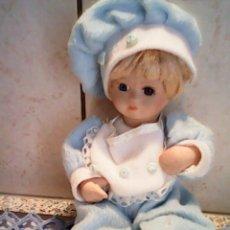 Muñecas Porcelana: PRECIOSA MUÑEQUITA BEBE EN PORCELANA,NOMBRE DAN DEE,COLLECTOR .S CHOICE. Lote 39349540
