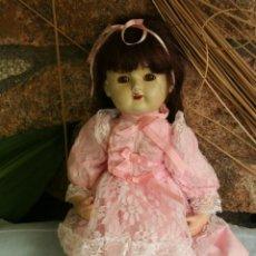 Muñecas Porcelana: ANTIGUA MUÑECA DE PORCELANA OJOS DURMIENTES . Lote 39491866