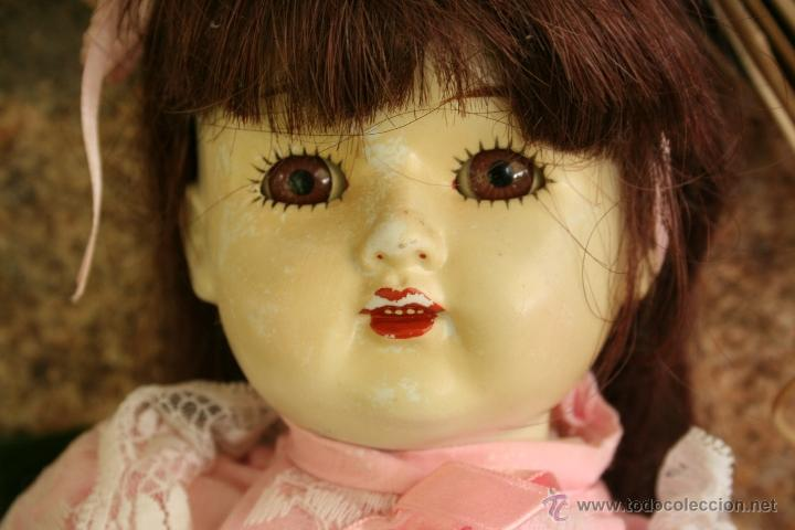 Muñecas Porcelana: antigua muñeca de porcelana ojos durmientes - Foto 2 - 39491866