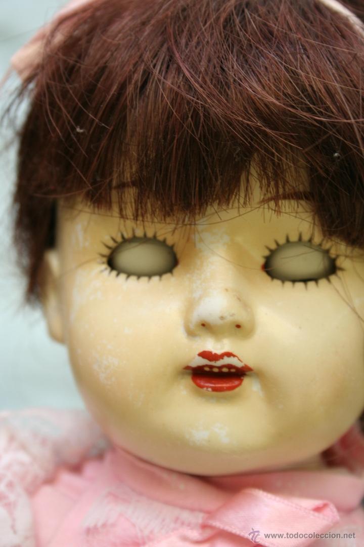 Muñecas Porcelana: antigua muñeca de porcelana ojos durmientes - Foto 3 - 39491866