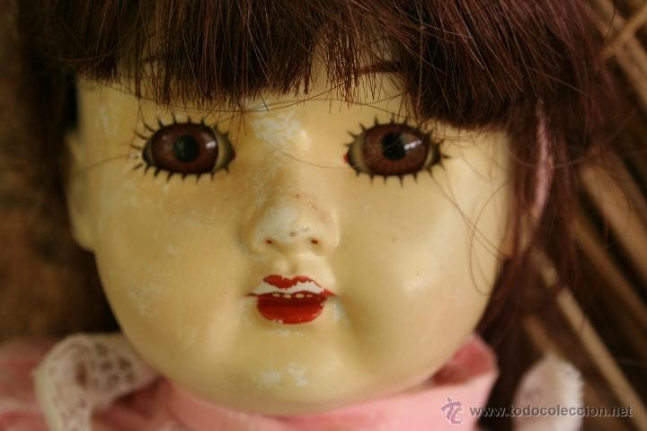 Muñecas Porcelana: antigua muñeca de porcelana ojos durmientes - Foto 5 - 39491866