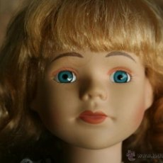 Muñecas Porcelana: MUÑECA PORCELANA DE COLECCION PROMENADE VICTORIA. Lote 39493112