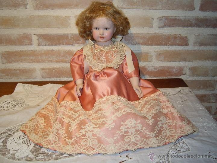 ANTIGUA MUÑECA DE PORCELANA., (Juguetes - Muñeca Extranjera Moderna - Porcelana)