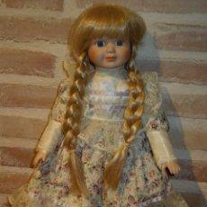 Muñecas Porcelana: VINTAGE MUÑECA DE PORCELANA SELLADA. Lote 39908738