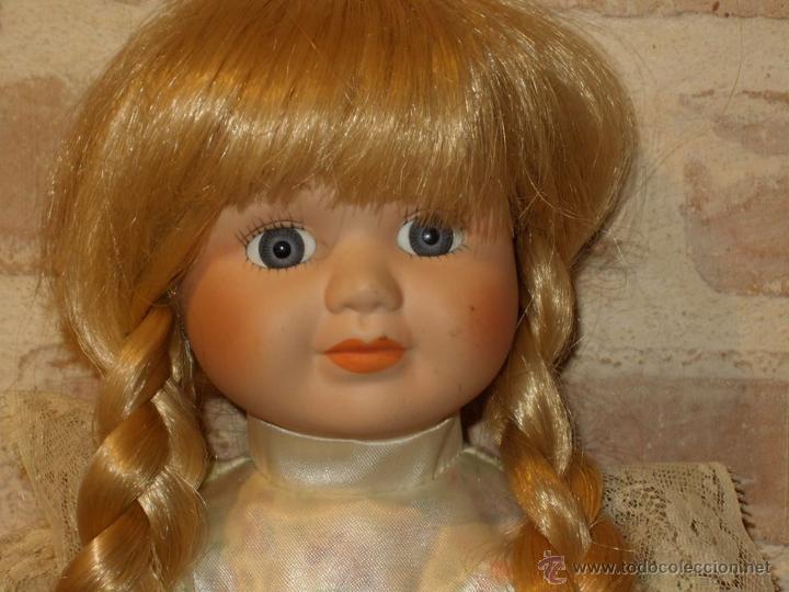 Muñecas Porcelana: VINTAGE MUÑECA DE PORCELANA SELLADA - Foto 2 - 39908738