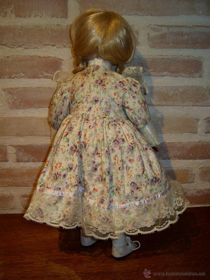 Muñecas Porcelana: VINTAGE MUÑECA DE PORCELANA SELLADA - Foto 4 - 39908738