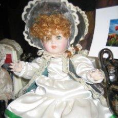 Muñecas Porcelana: MUÑECA DE PORCELANA. DE UNOS 30 CM.. Lote 39968496