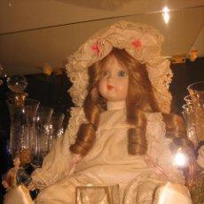 Muñecas Porcelana: MUÑECA DE PORCELANA. DE UNOS 40 CM.. Lote 39968509
