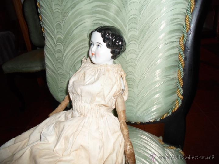Muñecas Porcelana: Maniquí del SXIX- posiblemente Inglesa - Foto 2 - 40031199