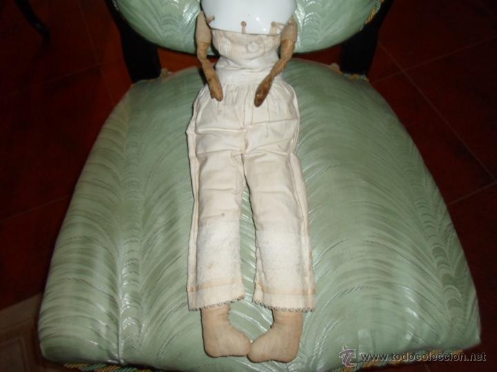 Muñecas Porcelana: Maniquí del SXIX- posiblemente Inglesa - Foto 5 - 40031199