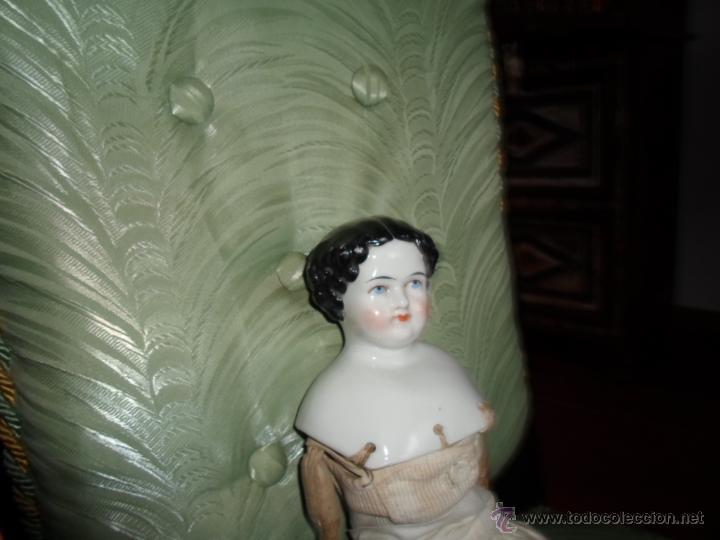 Muñecas Porcelana: Maniquí del SXIX- posiblemente Inglesa - Foto 9 - 40031199