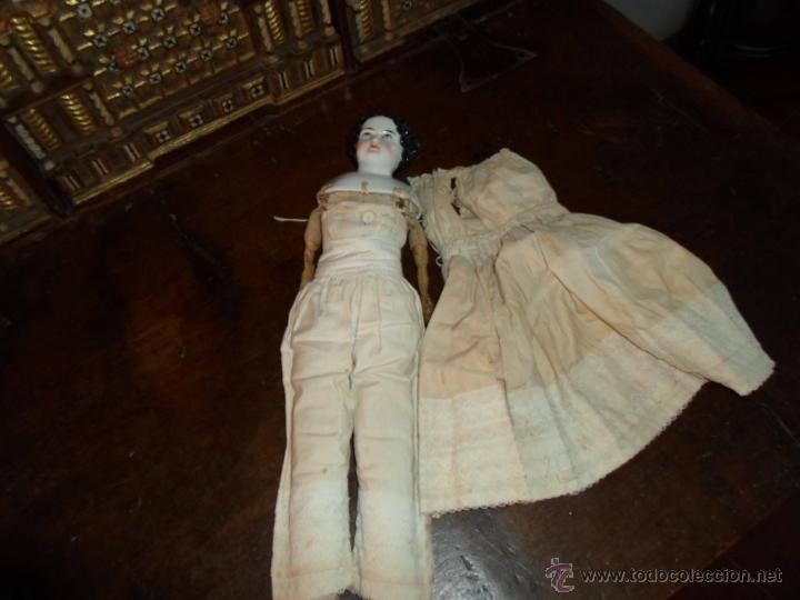 Muñecas Porcelana: Maniquí del SXIX- posiblemente Inglesa - Foto 10 - 40031199