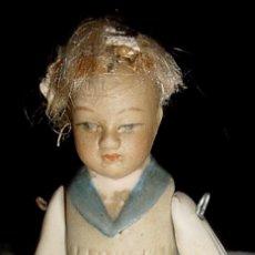 Muñecas Porcelana: PEQUEÑO MUÑECO DE PORCELANA DE PRINCIPIOS DEL SIGLO XX.. Lote 38261734