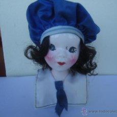 Muñecas Porcelana: BUSTO DE PORCELANA. Lote 40350916