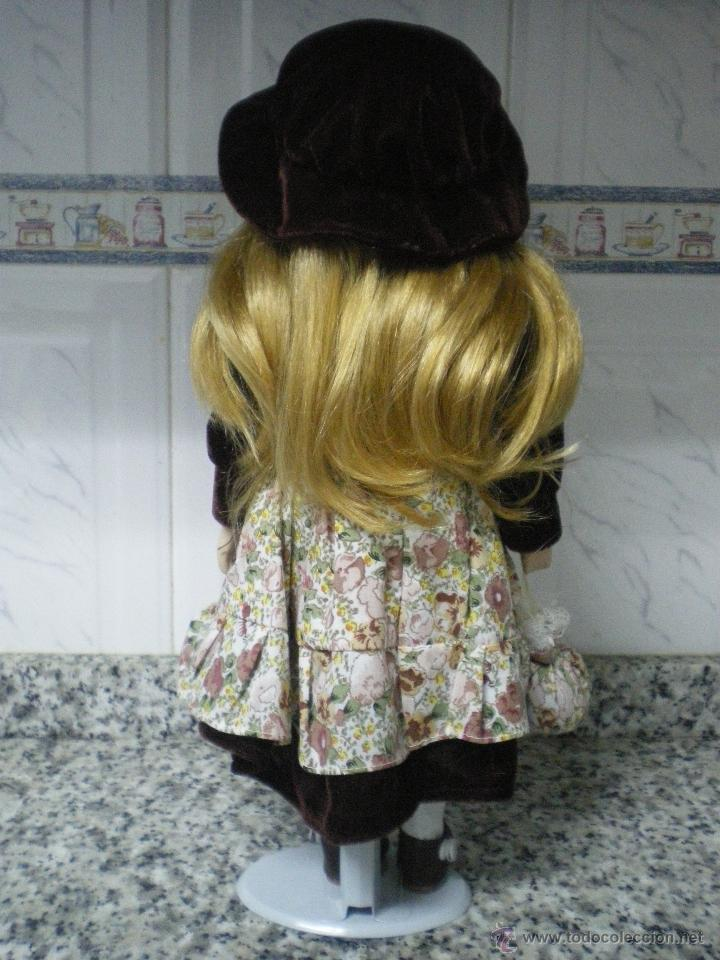 Muñecas Porcelana: MUÑECA DE PORCELANA VICTORIANA CON PEANA - Foto 3 - 40432799