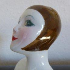 Muñecas Porcelana: BUSTO DE PORCELANA DE ESTILO ART DECO. Lote 40452993