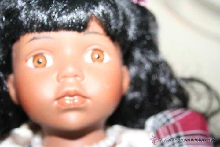 Muñecas Porcelana: muñeca porcelana negrita negra - Foto 4 - 40634933