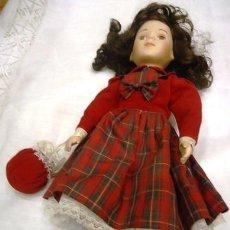 Muñecas Porcelana: MUÑECA DE PORCELANA PROMENADE COLLECTION. Lote 40656681