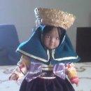 Muñecas Porcelana: MUÑECA DE PORCELANA DE LA COLECCIÓN PAÍSES DEL MUNDO. . Lote 40718609