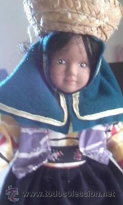Muñecas Porcelana: Muñeca de porcelana de la colección países del mundo. - Foto 2 - 40718609